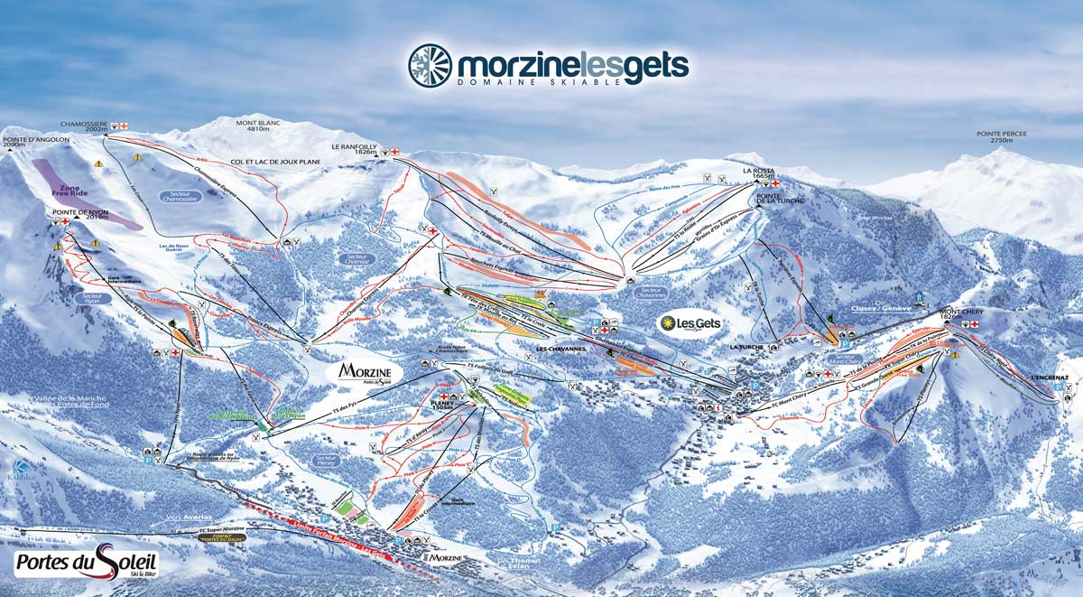 Morzine nicolas sport morzine - Domaine skiable les portes du soleil ...