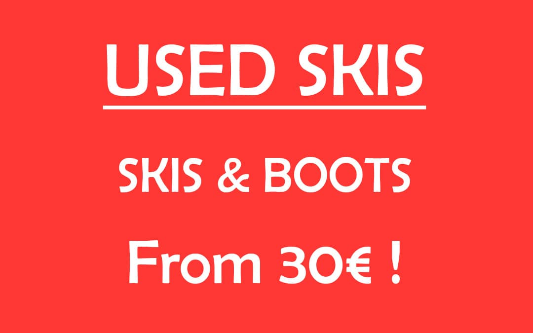 Used skis for sale